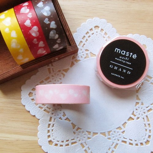 maste Masking Tape and paper tape [Love - Pink (MSG-MKT20-PK)]