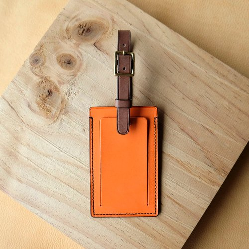 isni [luggage tag]  orange design/sweet design on the your travel