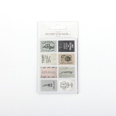 Ancien Vintage Stamp Sticker V3_06 Tarvel, E2D83105