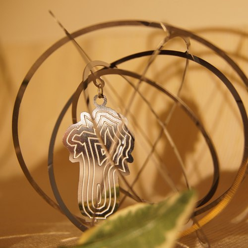 Good co-Court Fashion Series 3D artifacts bookmark ornaments - jade cabbage