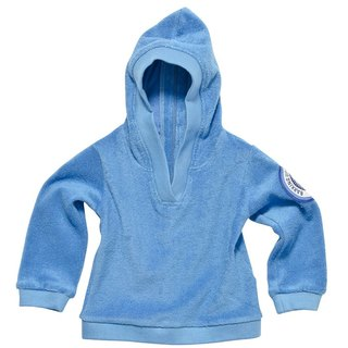 [Design] Nordic organic cotton zipper hoodie _ BABY blue Shampoodle Sweden Kids