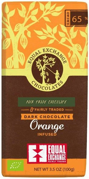 Equal Exchange chocolate orange dark chocolate _