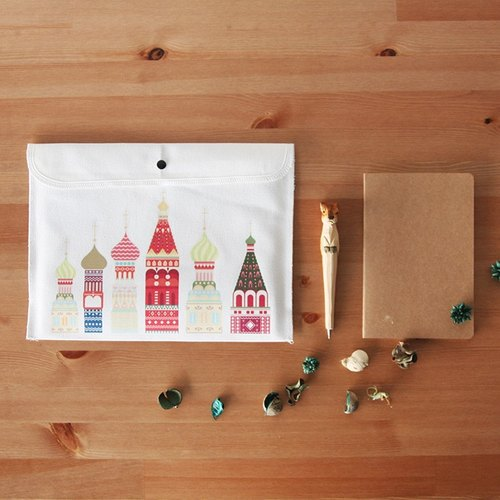 Moscow Wen family style canvas bags Shoulin