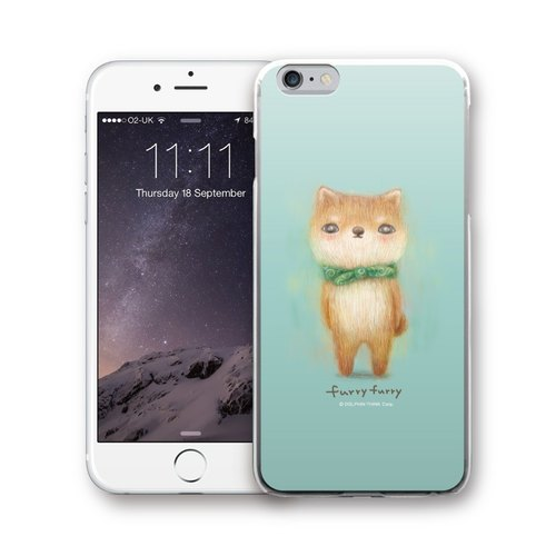 PIXOSTYLE iPhone 6 / 6S Plus Original Design Case - FURRYFURRY PSIP6P-317