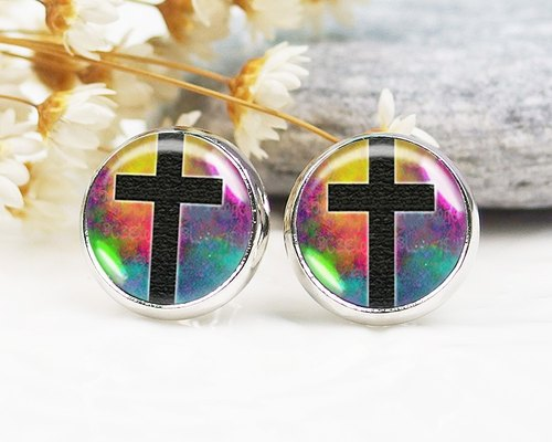 Cross - ear clip earrings earrings ︱ ︱ ︱ little face modified fashion accessories birthday gift