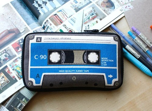 Ultrahard Lab Series Pencil / Pouch Series - Tapes life - retro blue