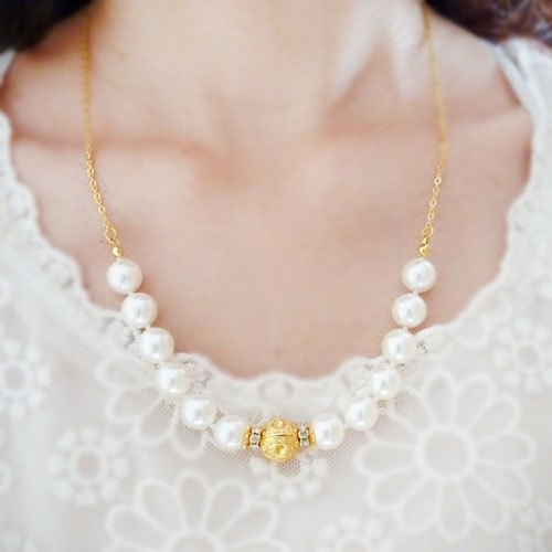 ❖Fang❖ romantic classic / Wedding / shell pearl necklace