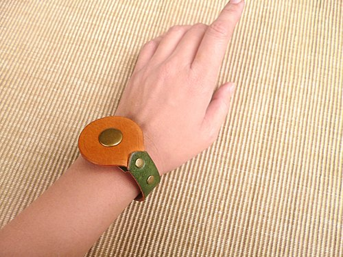 POPO│ minimalist design leather bracelet original │ │ genuine leather