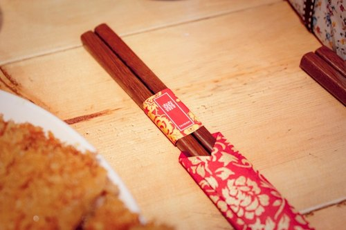 Custom engraved name - chopsticks