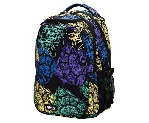 SOLIS [Graffiti Celebration Series] after the big size of the basic models Laptop Backpack (black graffiti)
