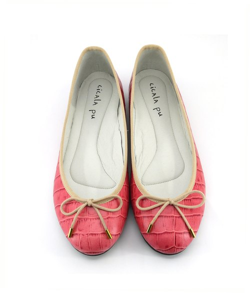 Peach Ballet Shoes
