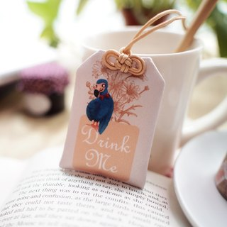 Yu Shou tea bags Drink Me Alice in Wonderland ▌ ▌ Yan Huang Ju Si x degree of glass