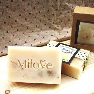 Oat milk handmade soap - 10 pieces