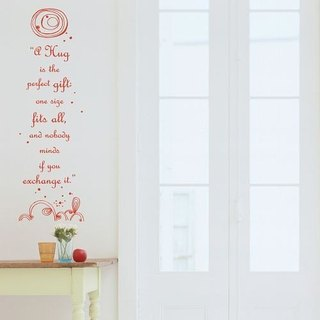 / A Hug / Wall Sticker / ECO-Material