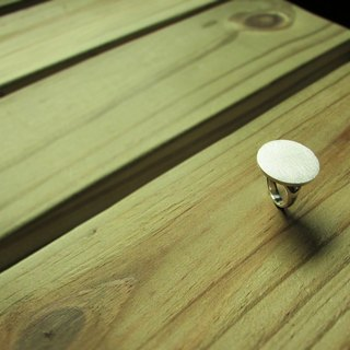 Mittag【RG404】thumbtack Pushpin Ring Designer Handmade Silver Ring - With Brand Wood Jewelry Box... Overtake...