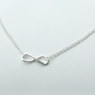 Journal commemorative, custom New Year's gift! Silver infinity symbol delicate bracelet