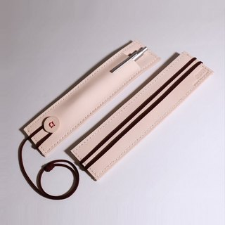 Book mark pencil bag_ Leather