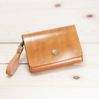 LION's Handmade Leather -- Coin Purse / Wallet