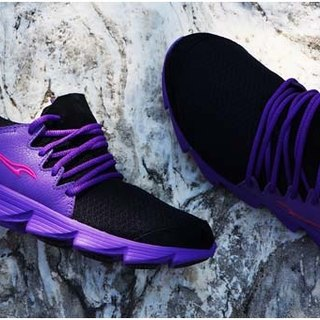 vpep jogging shoes / mysterious purple with / jogging, walking, long distance travel