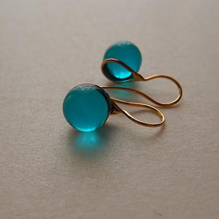 Teardrop - greenish blue Free Shipping in Asia