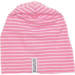 [Design] Nordic organic cotton striped cap for 1Y-6YTopline Pink / white