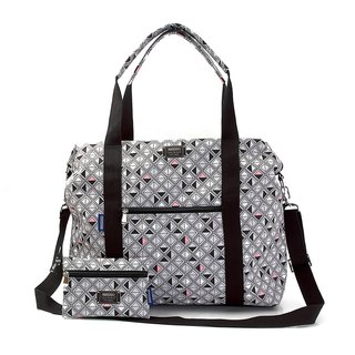 COPLAY  travel bag-grey squares