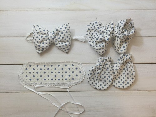 MIT Handmade newborn baby blue moon births attached gift packaging