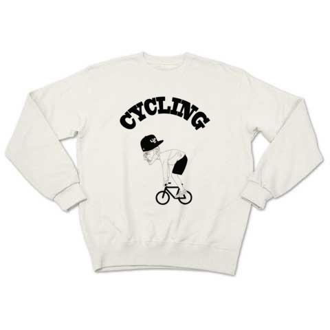 CYCLING(sweat white)