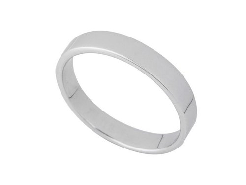 No. minimalist fashion Silver Ring 7 (2.2mm)