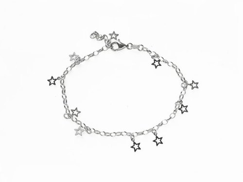 Midnight Star Silver Bracelet