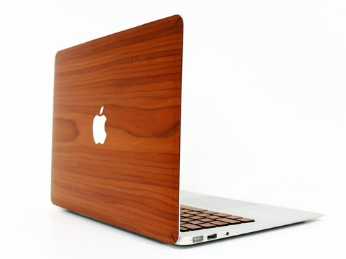 for MacBook / Keyboard - natural veneer protected シ ー Suites 100% Wooden Skin