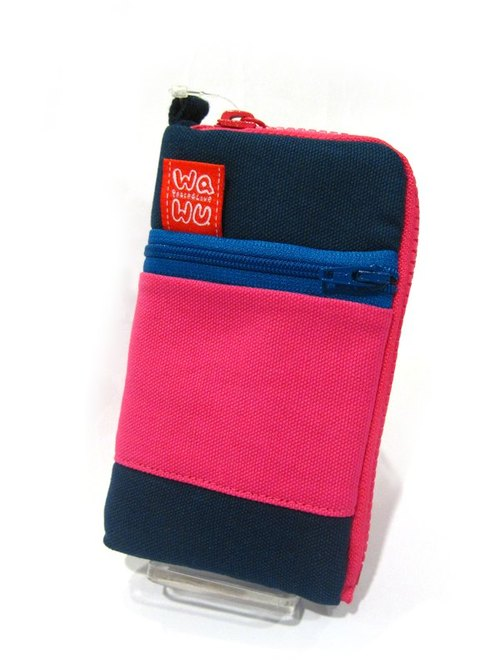 iPhone bag / zipper phone pocket / two guns bag