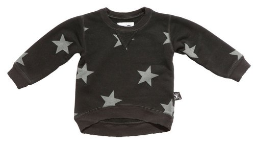 2014 autumn and winter NUNUNU star models casual shirt (large children)