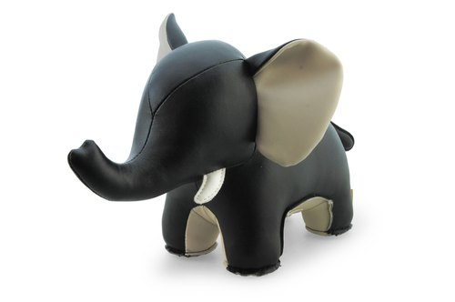Zuny- elephant ornaments modeling bookends (AbbyII- Black)