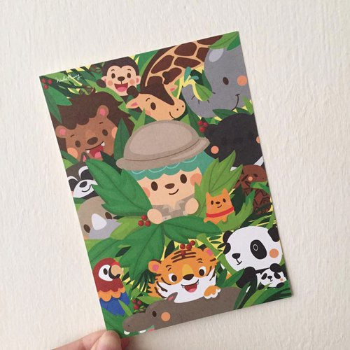 Jungle Postcards