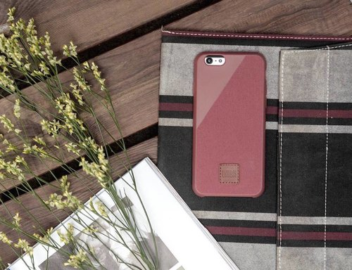 [IPhone 6s / 6] Native Union CLIC 360 drip drop resistance protective shell red maple leaf crashworthiness first canvas with cabinet