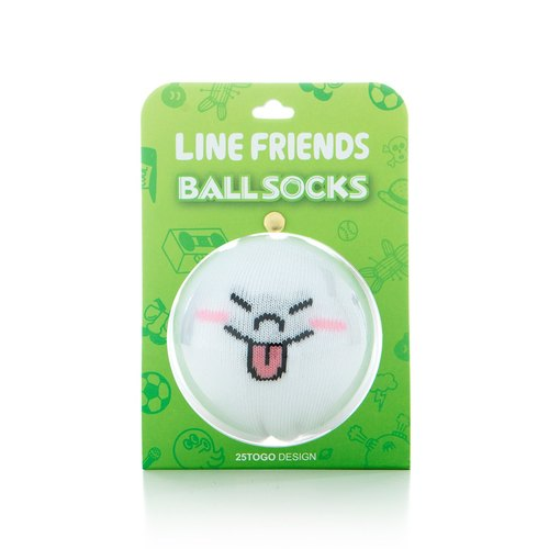 LINE FRIENDS socks _ bread man tongue