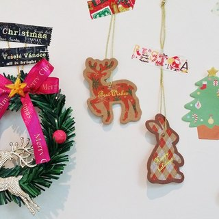 Japan amifa 2015 Xmas elk and rabbit small elevator (29024)