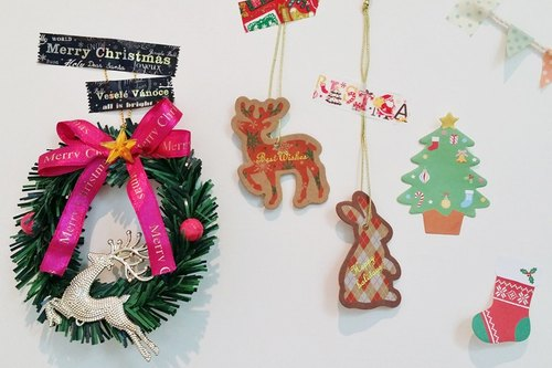 Japan amifa 2015 Xmas elk and rabbit small elevators (29024)