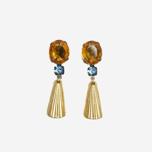 [Indigo] complex Guba Lei diva earrings