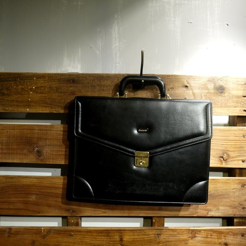 Skarn Shika // Vintage bag Enjoie classic portable briefcase {A3-003}