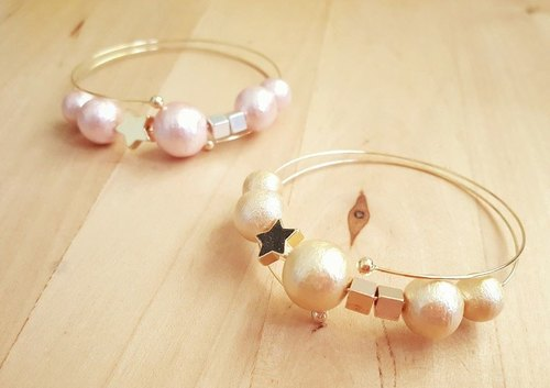 [Atelier A.] Summer Campaign Golden Star Double Pendant