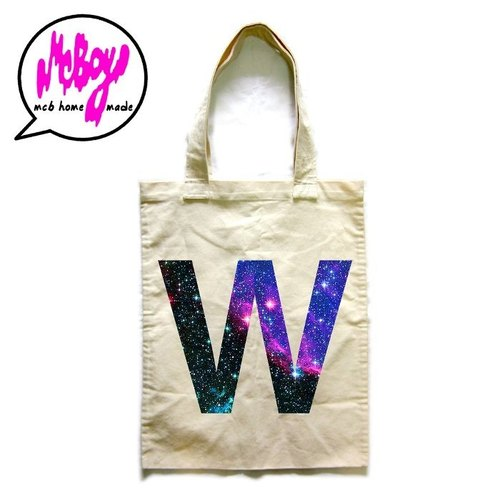 Galaxy W Tote Bag