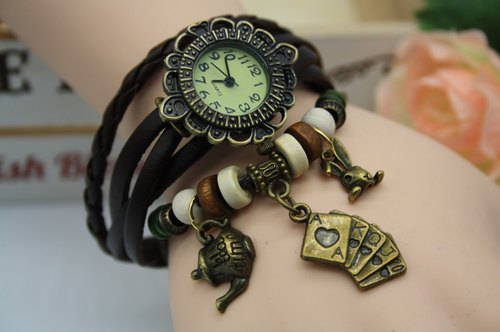 Alice in Wonderland alice wonderland cute retro bracelet watch accessories