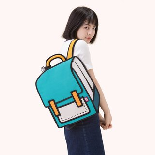 JumpFromPaper Spaceman Turquoise Backpack