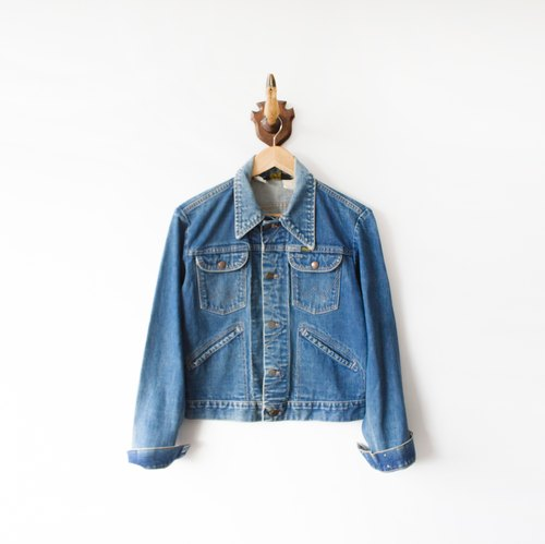 vintage Wrangler Denim Jacket banana cat. Banana Cats