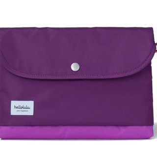 Hellolulu Tess-iPad Lightweight Tote - Purple