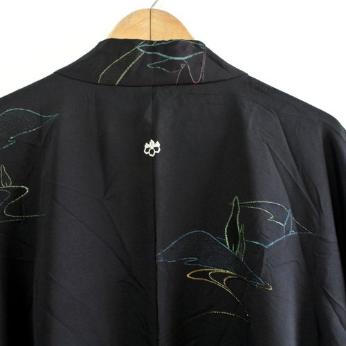 │Slowly│ Japanese antiques - light kimono coat D3│ .vintage retro vintage art...
