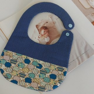 Blue hedgehog births gift Baby Bibs