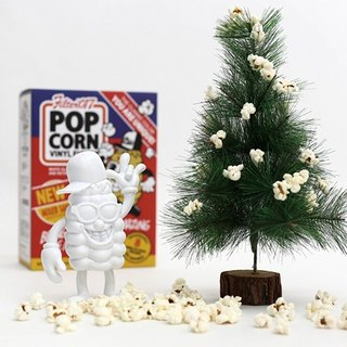 Filter017 X 909 TOY - POP CORN Vinyl Toy Cornman Silicone Toy - Christmas Limited Edition